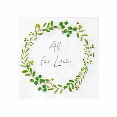 Papierserviette All for love