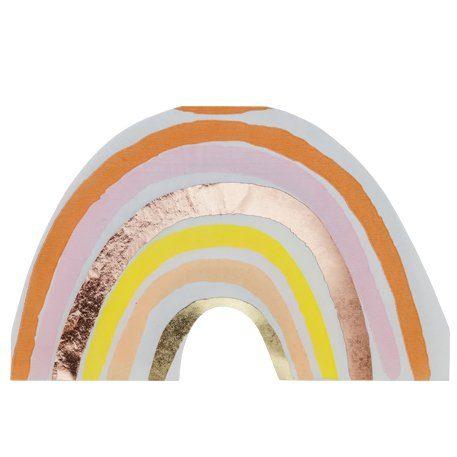 Papierserviette Regenbogen
