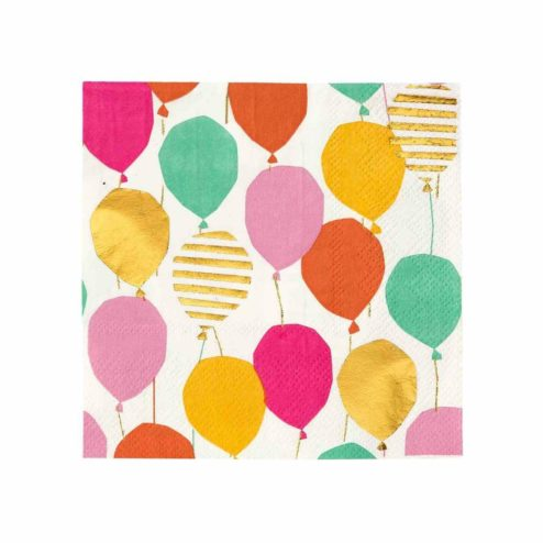 Papierservietten Bunte Luftballons