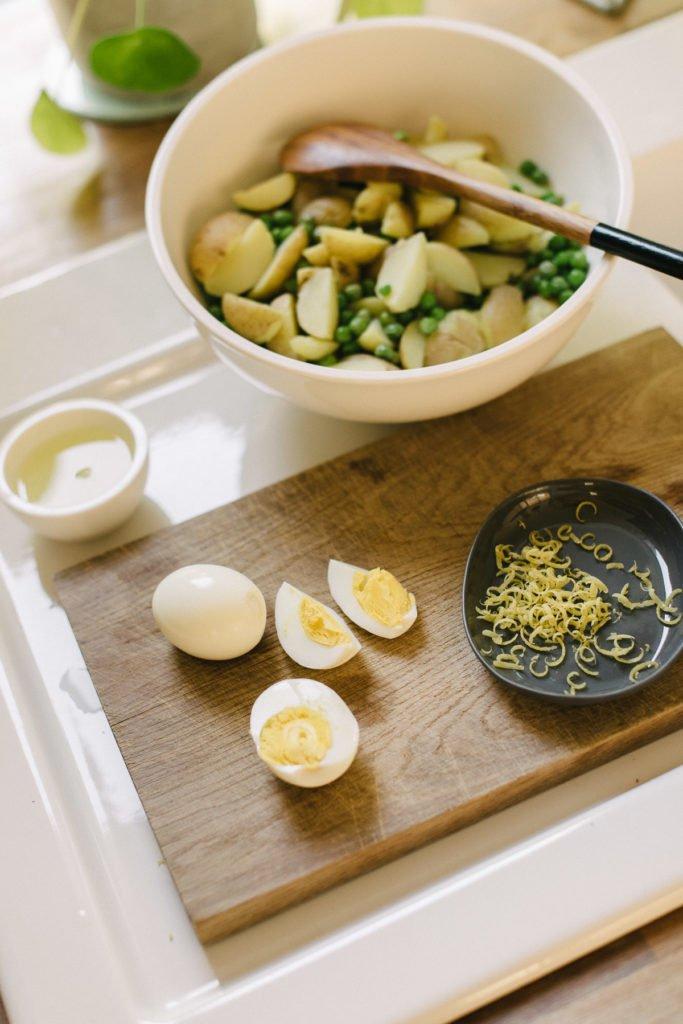 Rezept: Außergewöhnlicher Kartoffelsalat mit Koriander