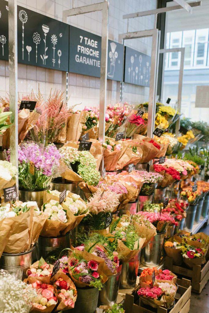 Frische Schnittblumen bei Blume2000 in Karlsruhe