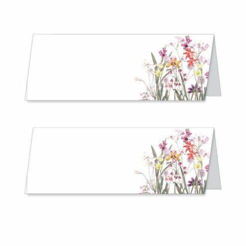 Elegant Flowers Namenskarte Tischkarte
