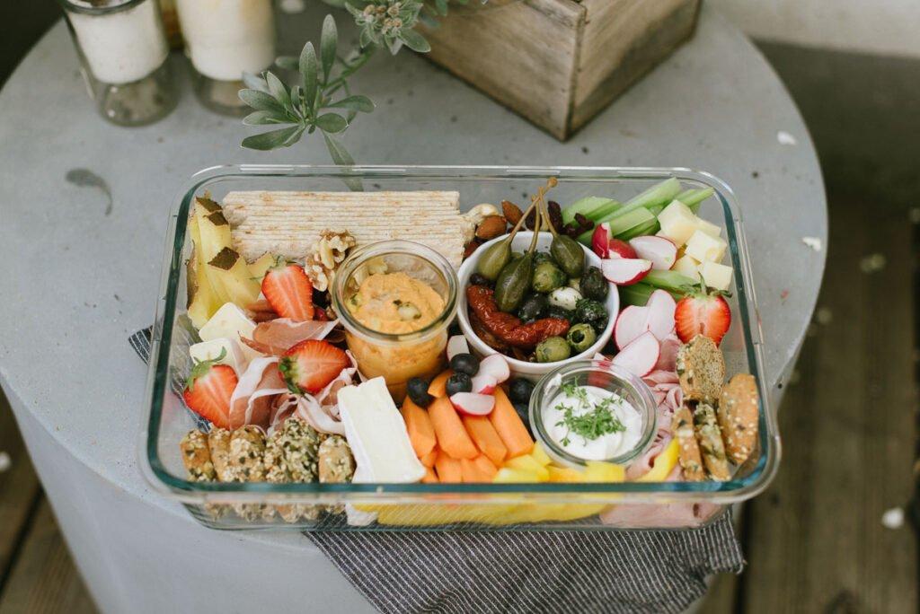 Picknick Idee: Schön leckere Snackbox