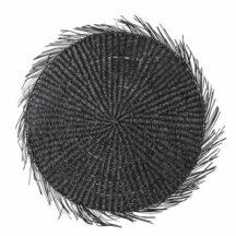 Platzset Seagras schwarz 38cm