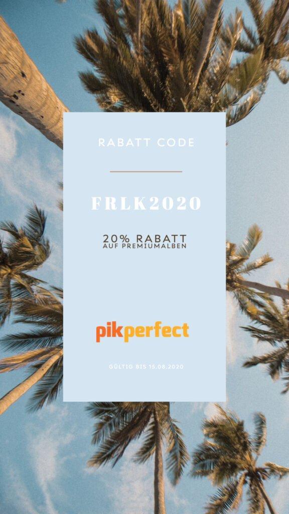 Rabatt Code Pikperfect Album