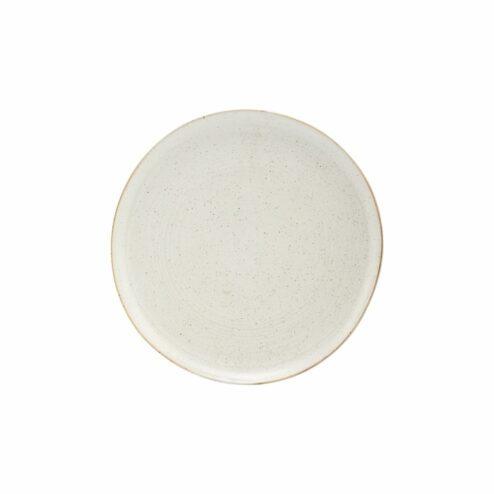 Teller Pion grau-weiß (2 Stueck)