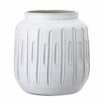 Vase weiß Terracotta