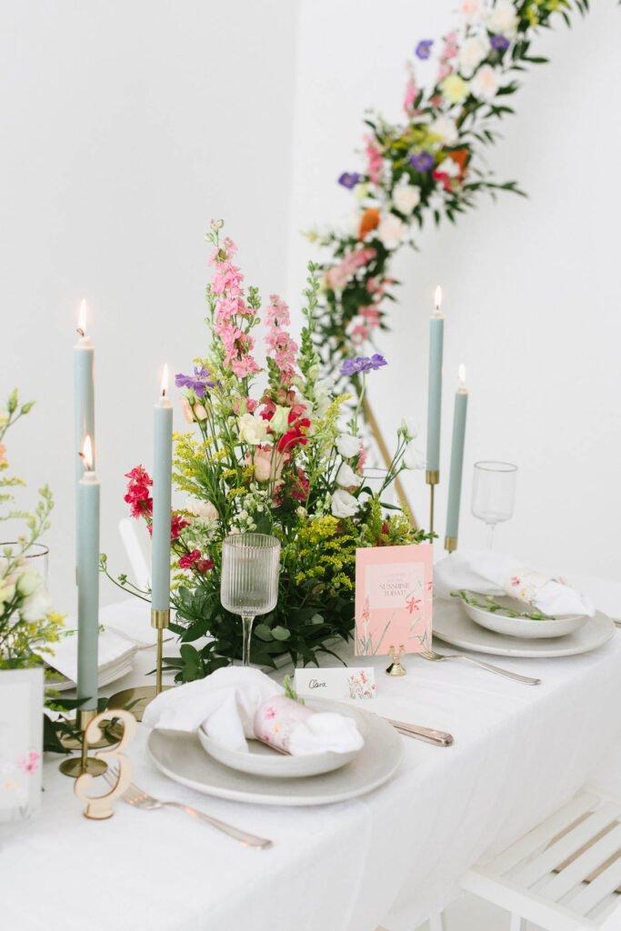 Hochzeitsdekoration mit Blumen Elegant Flowers