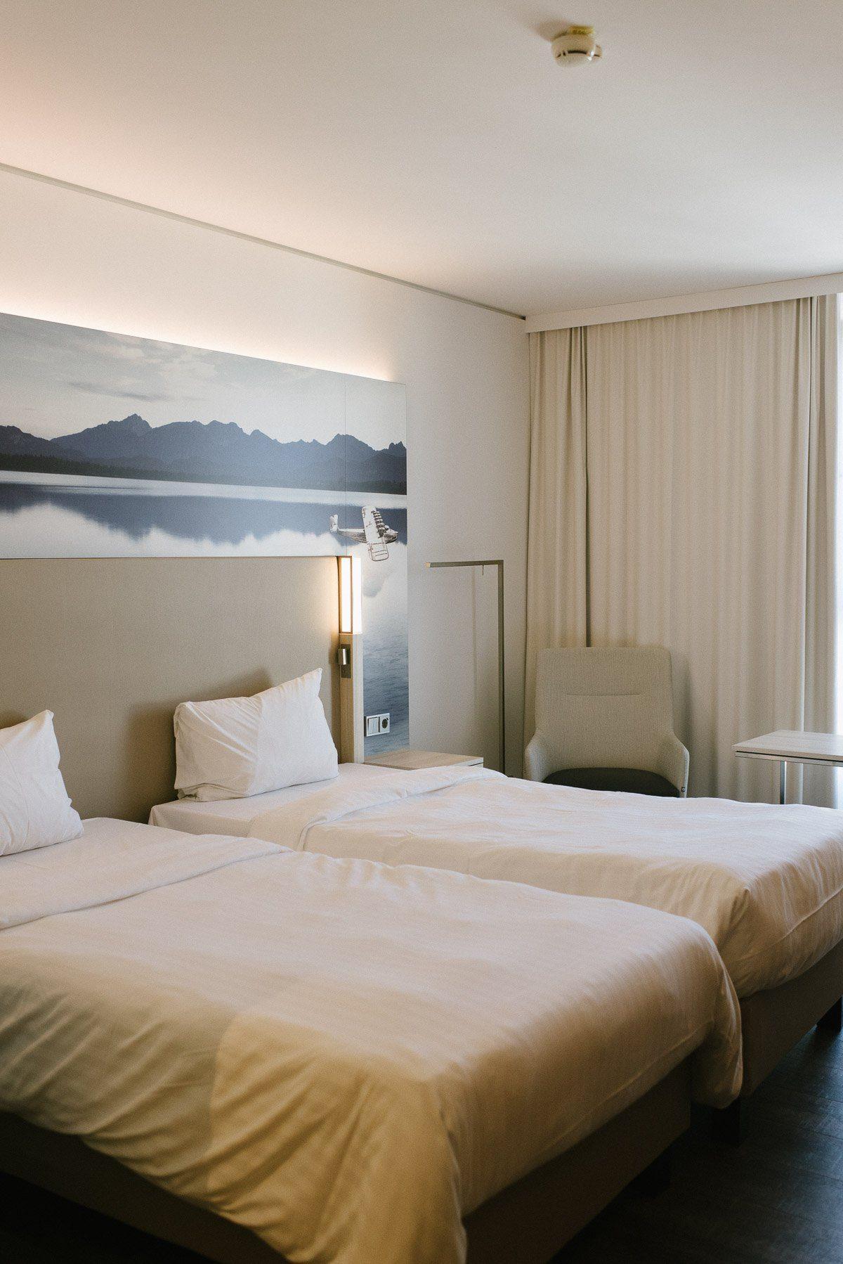 Hotelzimmer im Courtyard by Marriott München Süd