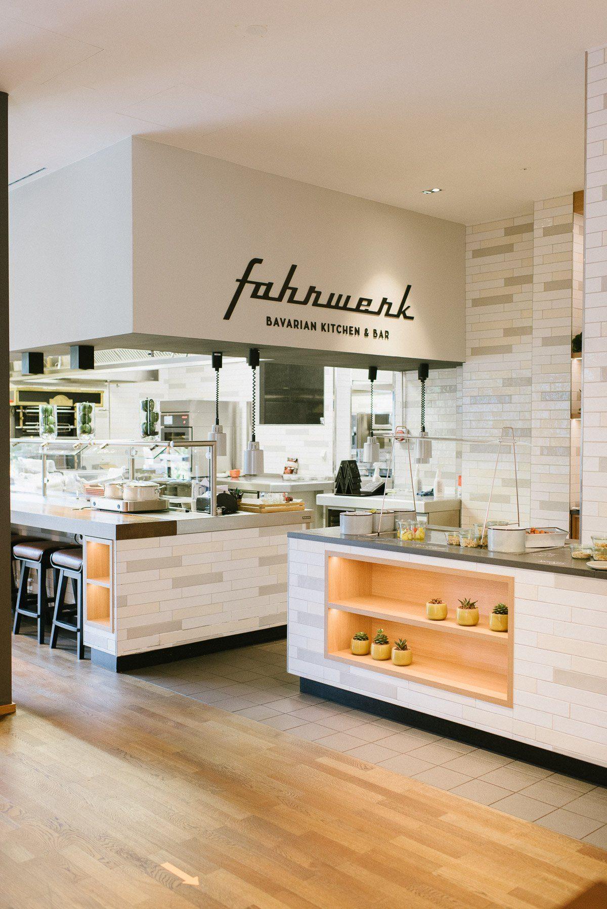 Fahrwerk Restaurant Hotel Courtyard by Marriott