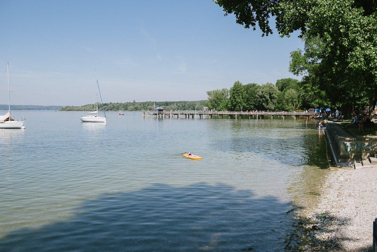 Ufer bei Herrsching am Ammersee