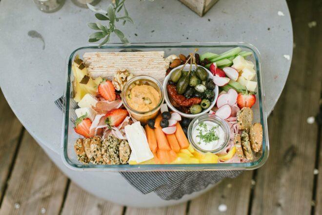 Picknick Rezepte Snackplatte