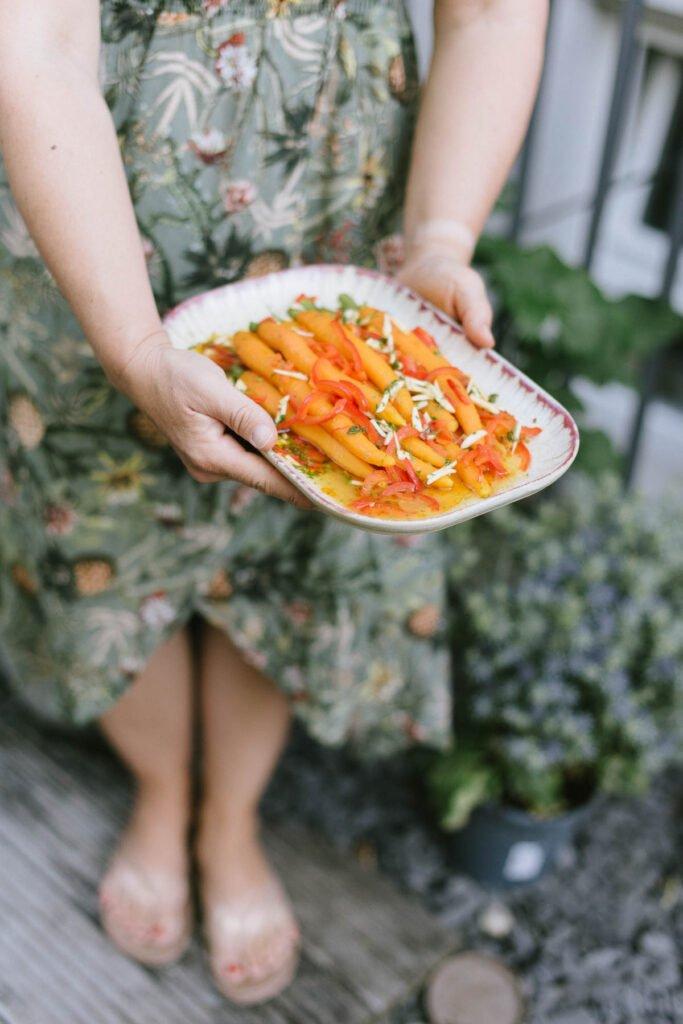 Rezept: Eingelegter Karottensalat