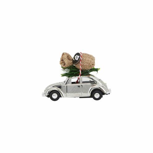 Anhaenger Auto mit Tannenbaum klein