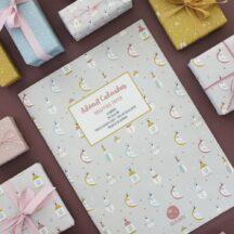 Geschenkpapier Adventskalender X-Mas Dreams