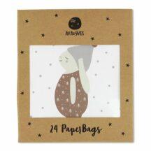 Papiergeschenktueten klein Hase (4 Designs)