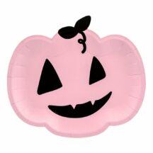 Pappteller Kuerbis rosa
