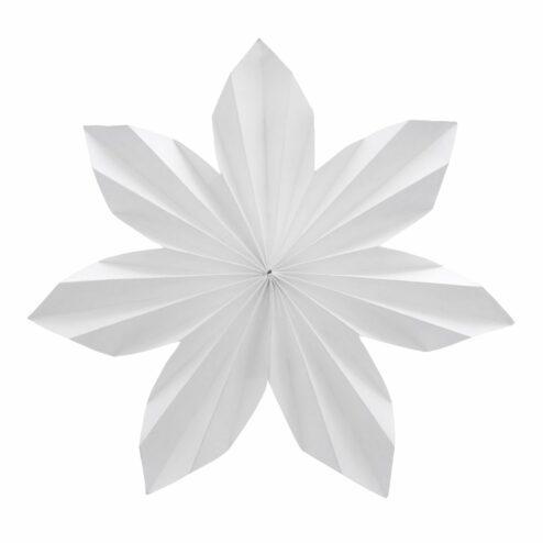 Sternenornament Dalby Papier weiß