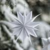 Sternenornament Dalskog Papier weiß