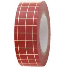 Masking Tape Xmas rot gold