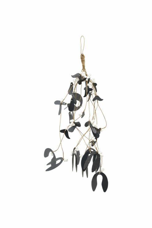 Ornament Mistelzweig schwarz