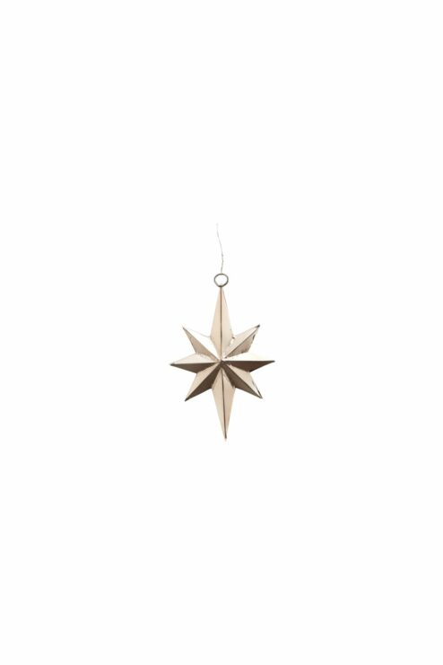 Ornament Star Bethlehem antik silber