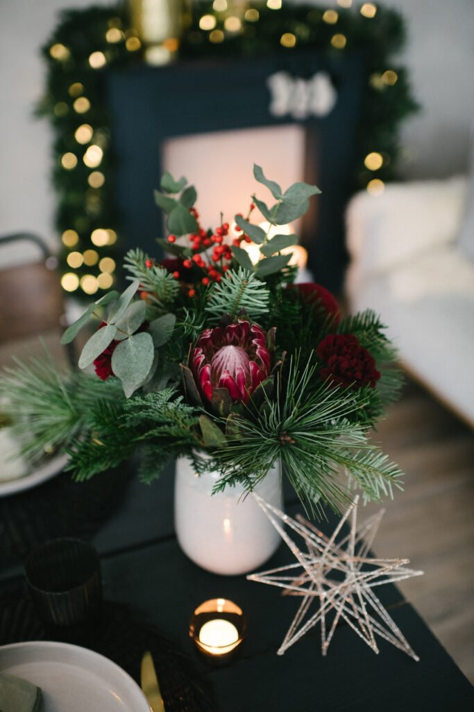 Adventsabend genießen im festlichen Black Velvet- Look - wir schaffen Traditionen neu und feiern im kleinsten Kreis den besinnlichen Advent