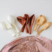 Ballonmischung rosegold-blush