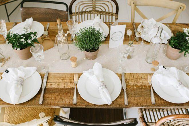 Vom Tisch zur Tafel: Diese 5 Basics gehören zu jeder Tischdeko