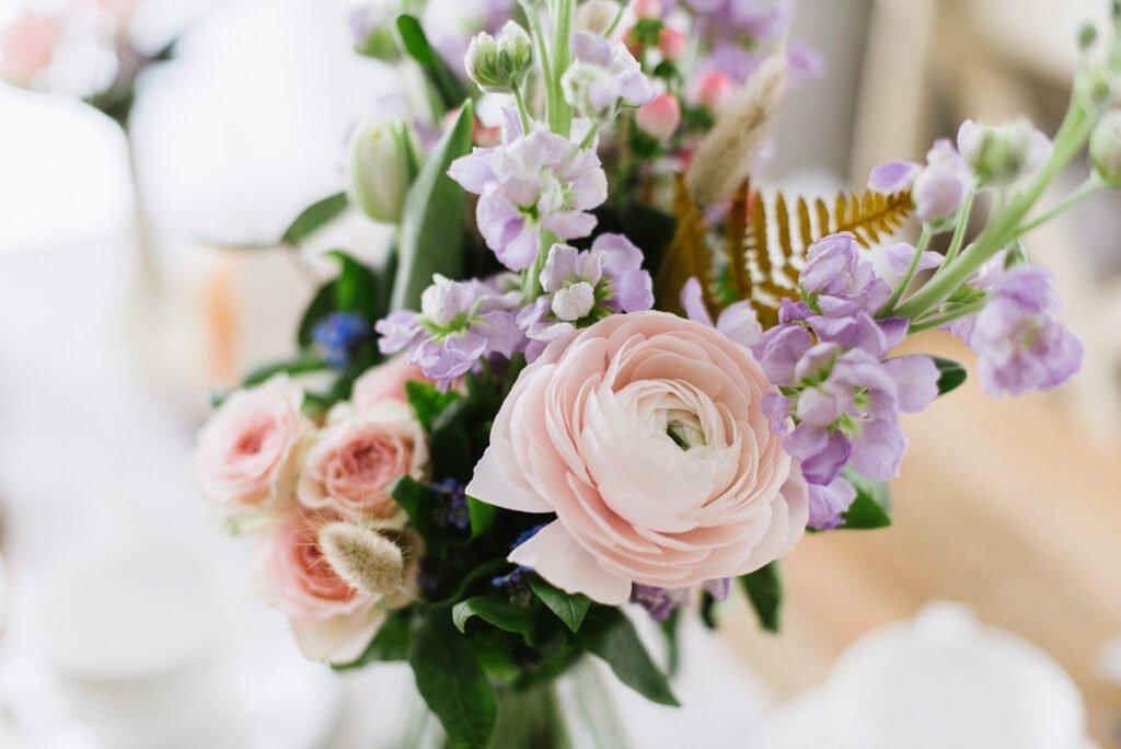 Blumen Deko Blossom Taufe Kommunion Geburtstag