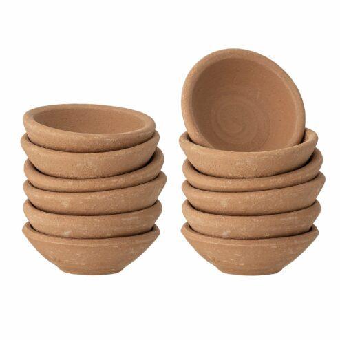 Schuessel Marion Terracotta (12 Stueck)