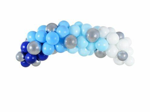 Ballongirlande blau
