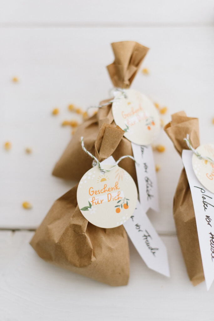 DIY Gastgeschenk einfach befüllen und eure Gäste begeistern - Gastgeschenk für Hochzeit, Taufe, Geburtstagsfest uvm.