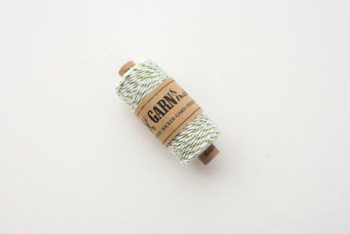 Baecker-Garn moosgrün
