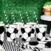 Partydekoration im Set Fussball