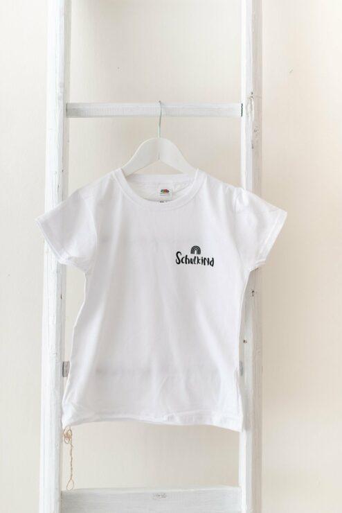 T-Shirt Schulkind Regenbogen