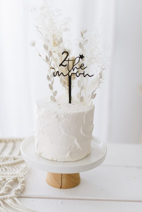 Cake Topper 2 the moon