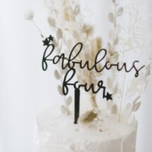 Cake Topper fabulous four