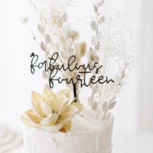 Cake Topper Fabulous fourteen