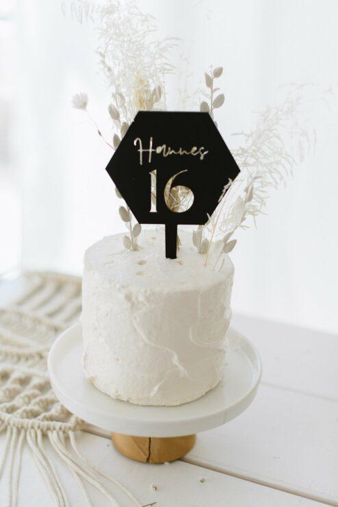 Cake Topper Hannes 'Name + Zahl'