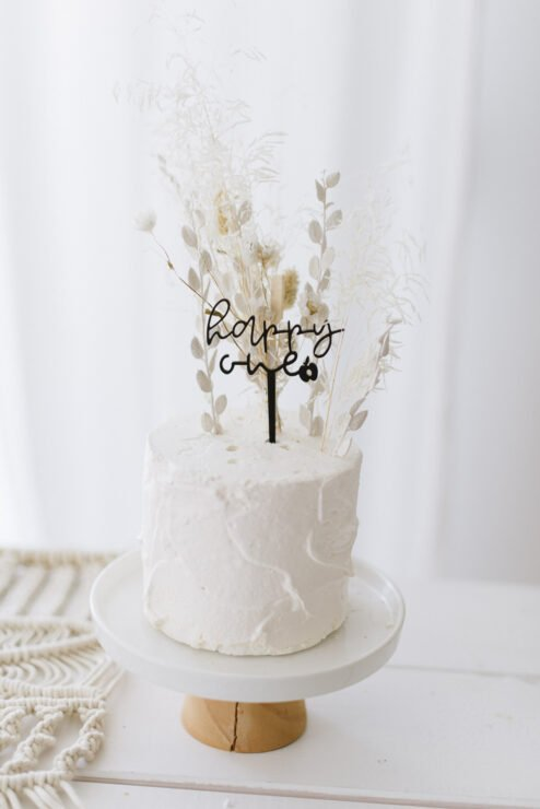 Cake Topper happy one