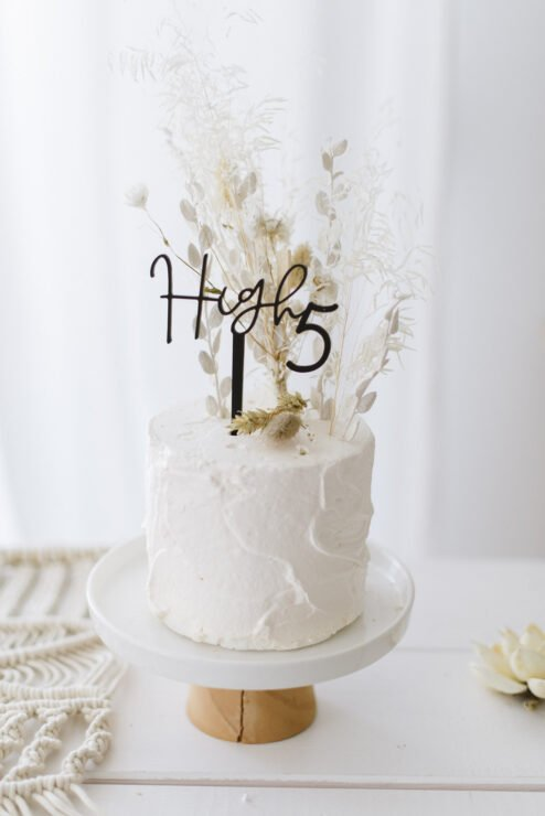 Cake Topper high 5