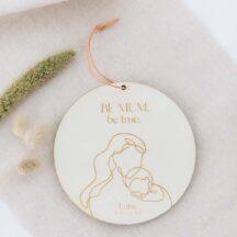 Holzschild Be Mum - Geschenk für Muttertag oder zur Geburt