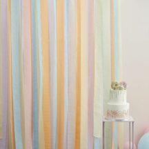 Fotohintergrund pastell Streamer