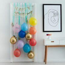 Happy Birthday Ballon Tuer Kit