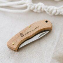 Kinder Schnitzmesser mit graviertem Namen