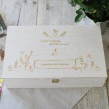 Holzbox Garten
