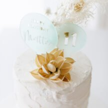 3d-cake-topper happy birthday Matteo aqua transparent