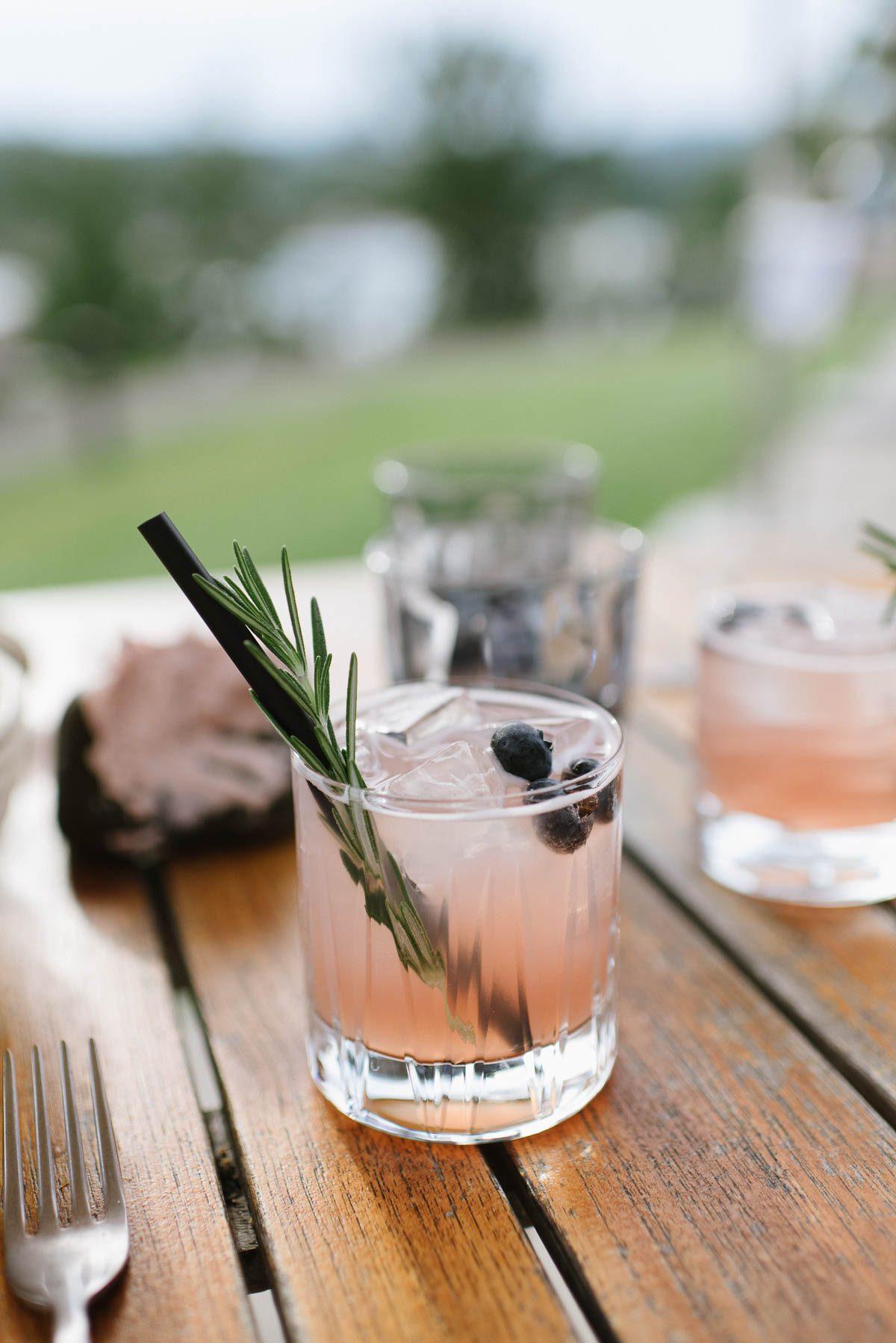 Drink auf der Hotel Terrasse