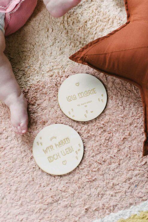 Babygeschenk Geschenk Geburt Name personalisiert